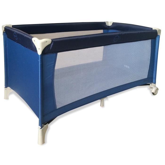 asalvo baby lit parapluie baleares bleu bleu achat vente lit pliant 8435195911015 cdiscount. Black Bedroom Furniture Sets. Home Design Ideas