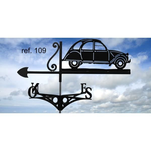girouette 2cv ref 109 achat vente girouette cadran. Black Bedroom Furniture Sets. Home Design Ideas