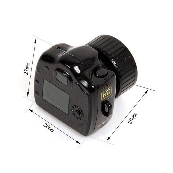 Pocket Mini caméscopes numériques vidéo Mini DV caméra, an 2000