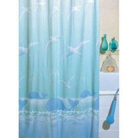 Rideau de douche pvc baleine bleue 180x180cm achat vente rideau de douche cdiscount - Rideau de douche 180x180 ...