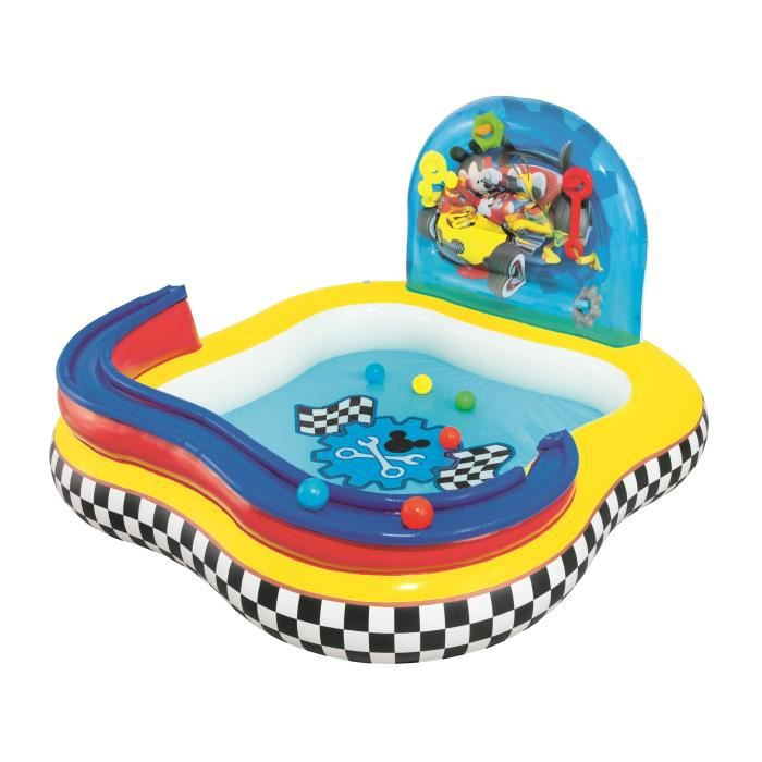 Mickey piscine jeu 160 x 160 x 91 cm achat vente for Piscine 91
