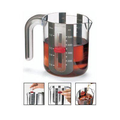 verre mesureur 1 litre cuisipro achat vente doseur mesureur soldes d t cdiscount. Black Bedroom Furniture Sets. Home Design Ideas