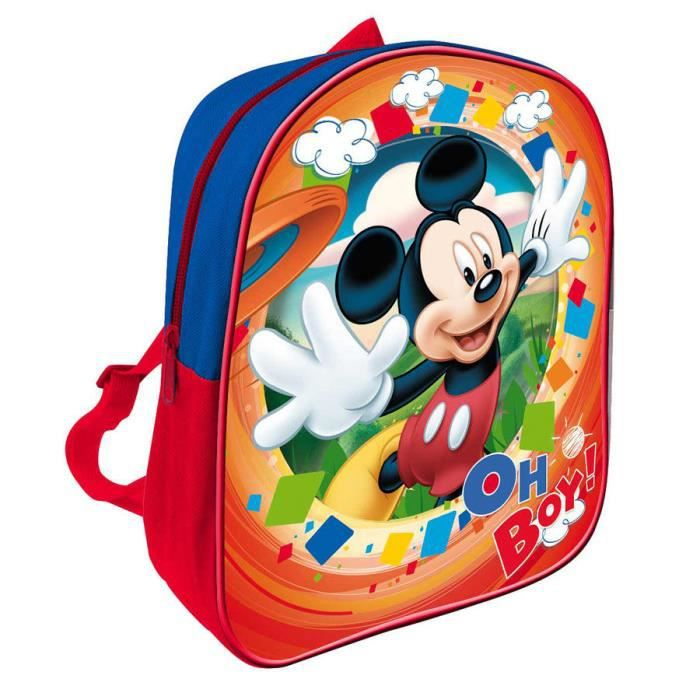 petit sac dos enfants mickey mouse disney garderie cr che cole loisirs petit cartable gar ons. Black Bedroom Furniture Sets. Home Design Ideas