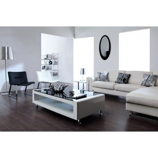 Table basse bianca un magnifique mod le au design for Modele salon contemporain