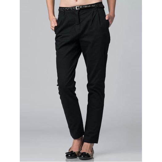 pantalon coupe carotte noir noir achat vente pantalon pantalon coupe carotte cdiscount. Black Bedroom Furniture Sets. Home Design Ideas