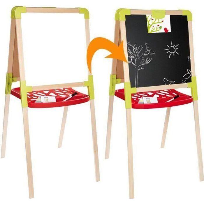 Tableau Enfant Bois : smoby tableau bois achat vente tableau enfant cdiscount ~ Teatrodelosmanantiales.com Idées de Décoration
