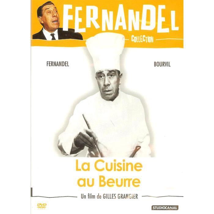 Dvd la cuisine au beurre bourvil studiocanal en dvd for La cuisine au beurre