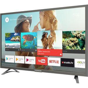 THOMSON 43US6016 TV LED 4K UHD 109 cm (43'') - Smart TV - 3 x HDMI - Classe énergétique A+