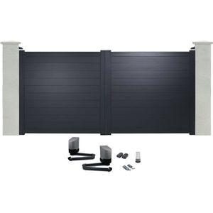 portail 4m achat vente portail 4m pas cher cdiscount. Black Bedroom Furniture Sets. Home Design Ideas