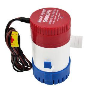 POMPE ARROSAGE 12V pompe à eau de cale de bateau submersible 500G