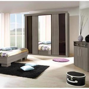 garde robe porte coulissante achat vente garde robe. Black Bedroom Furniture Sets. Home Design Ideas