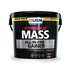 GAINER - PRISE DE MASSE USN Prise de Masse Hyperbolic Mass Chocolat 6 Kg N