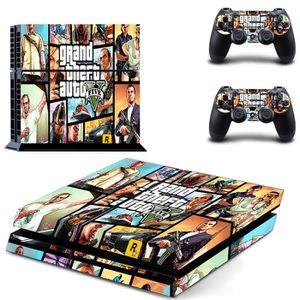 STICKER - SKIN CONSOLE JWmall®grand Theft Auto-PS4 Sticker Skin Stickerbo