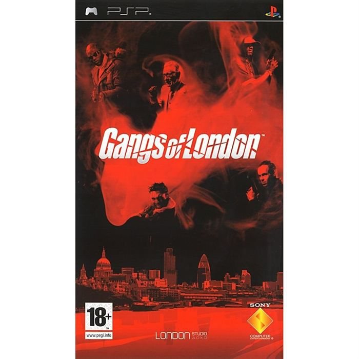 JEUX PSP GANGS OF LONDON ESSENTIAL / PSP