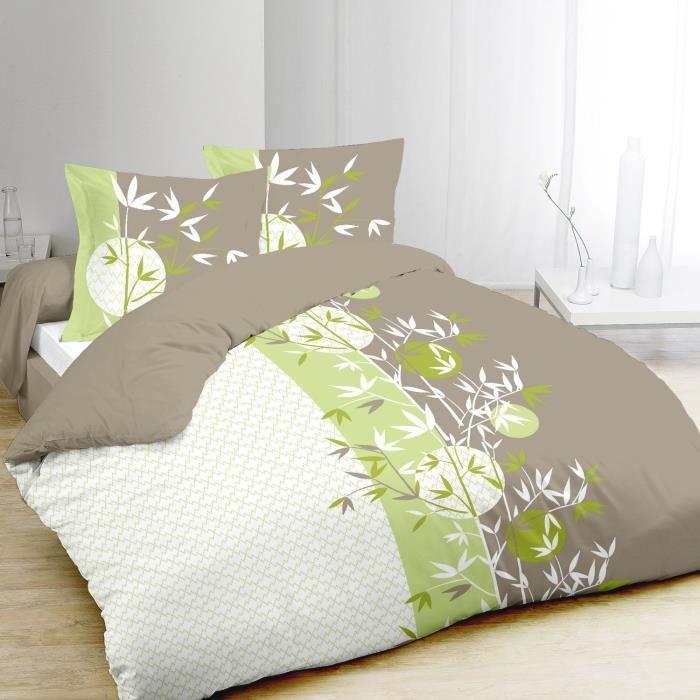vision housse de couette zenya 220x240cm achat vente. Black Bedroom Furniture Sets. Home Design Ideas