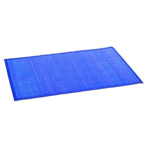 Tapis color en bambou 60 x 90 cm bleu achat vente tapis cdiscount - Tapis en bambou ikea ...