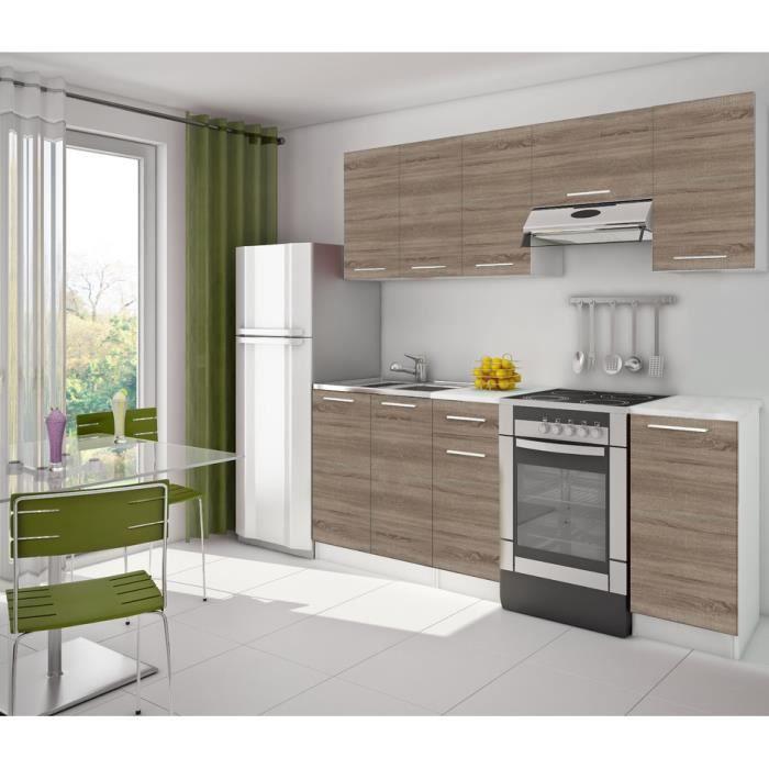 cuisine 2m20 avec plan de travail achat vente cuisine compl te cuisine 2m20 avec plan de t. Black Bedroom Furniture Sets. Home Design Ideas