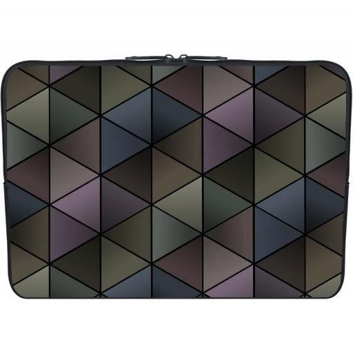 housse neoprene pc ordinateur portable netbook 11 6 quot pouces triangles 233 l 233 gantes sombres prix