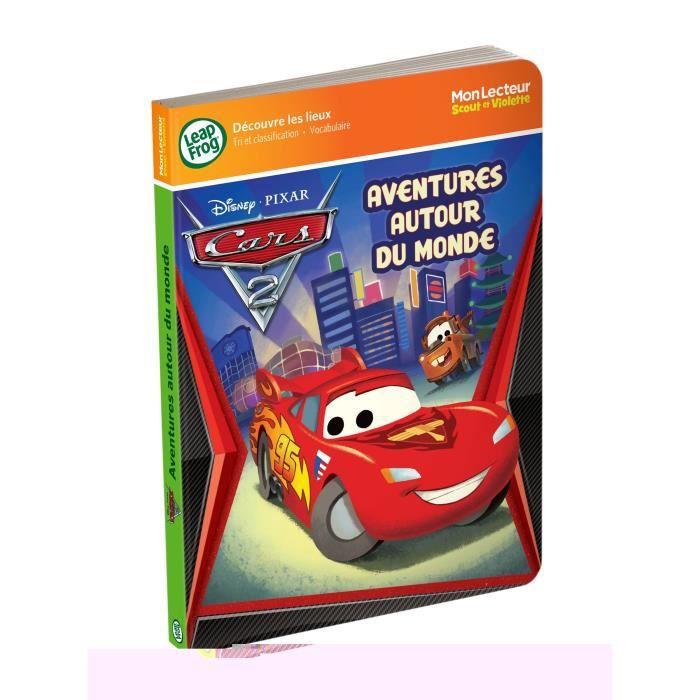 LIVRE INTERACTIF CARS Mon Lecteur Scout et Violette Les Lieux