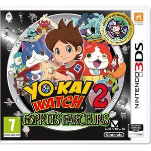 JEU 3DS Yo-Kai Watch 2 : Esprits Farceurs Jeu 3DS - Éditio