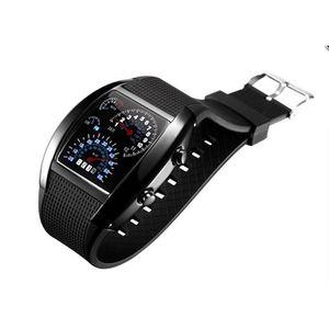 MONTRE Montre silicone led watch Binaire Compteur voiture