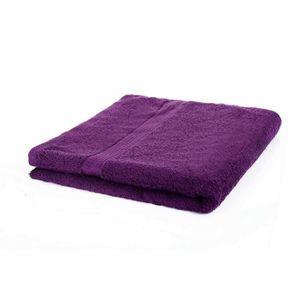SERVIETTES DE BAIN etérea serviette de bain 70x140 cm prune coton 100