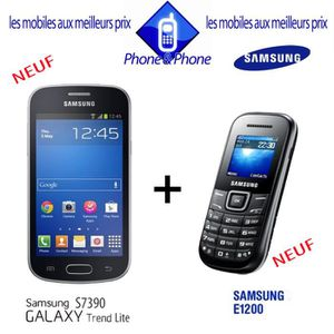 T l phone portable galaxy trend lite achat vente - Telephone portable samsung galaxy trend lite ...