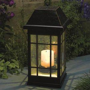 Lanterne solaire exterieur achat vente lanterne for Lanterne a poser exterieur