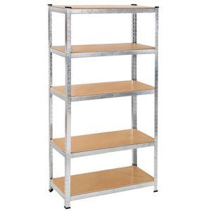 etagere bois metal achat vente etagere bois metal pas. Black Bedroom Furniture Sets. Home Design Ideas