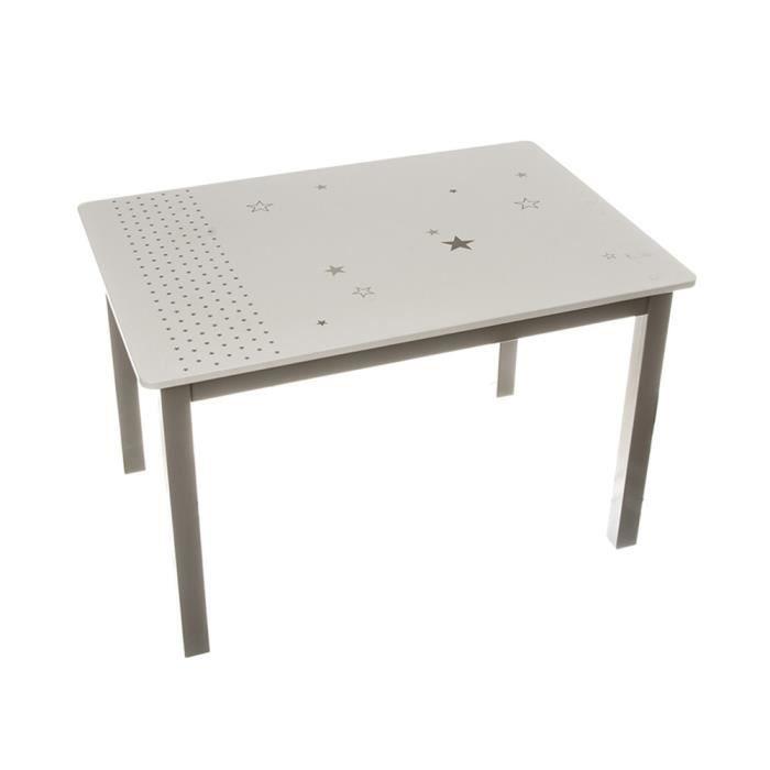 table taupe pour enfant en bois autres cacao achat vente table a manger seule table taupe. Black Bedroom Furniture Sets. Home Design Ideas