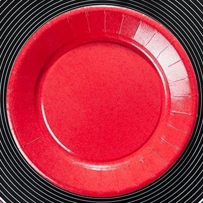 assiette carton rouge achat vente assiette carton rouge pas cher les soldes sur cdiscount. Black Bedroom Furniture Sets. Home Design Ideas