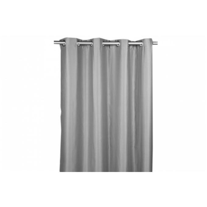 rideau occultant gris ernest 140x260 cm achat vente. Black Bedroom Furniture Sets. Home Design Ideas