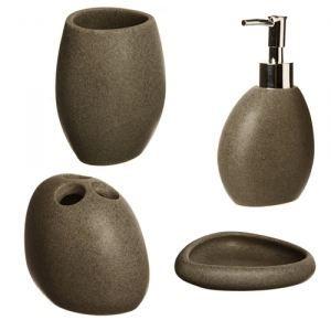 set de 4 accessoires pour salle de bain achat vente. Black Bedroom Furniture Sets. Home Design Ideas
