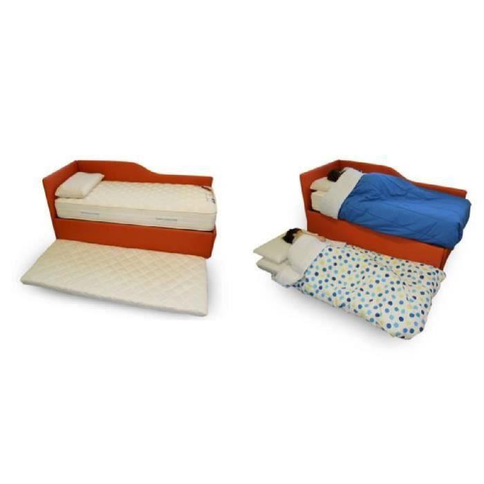 matelas d 39 appoint en mousse polyur thane lit d 39 appoint ou lit d 39 invit twist bed 140x195 cm. Black Bedroom Furniture Sets. Home Design Ideas