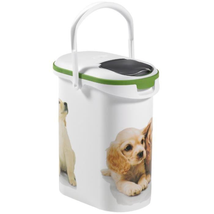 curver verseuse croquettes pour chien 10l 4 kg achat vente boite pour alimentation. Black Bedroom Furniture Sets. Home Design Ideas