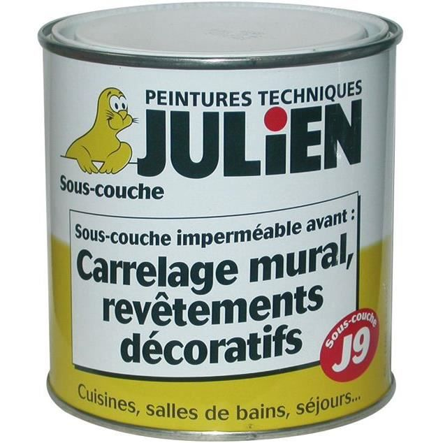 Sous couche julien avant rev tement d coratif lour achat vente peinture - Poncer sous couche avant peinture ...