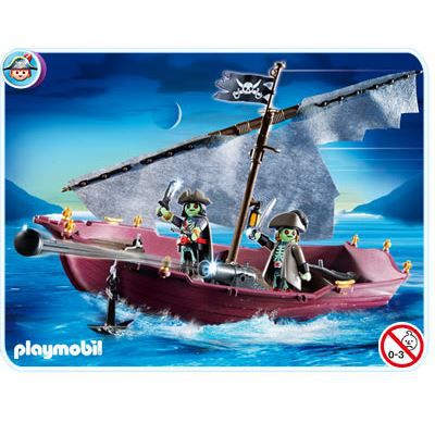 Playmobil 5901 ghost pirate ship achat vente univers - Playmobil pirate fantome ...