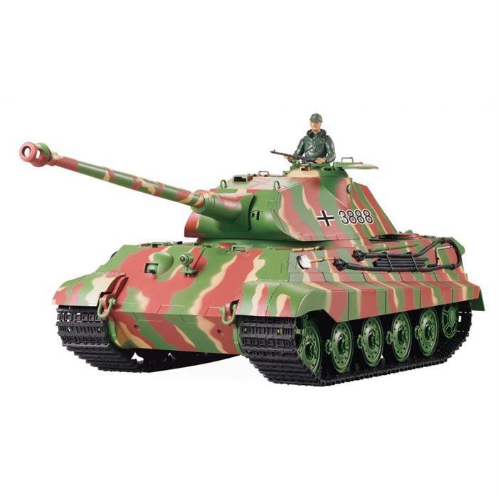 char d 39 assault rc 1 16 king tiger complet achat vente. Black Bedroom Furniture Sets. Home Design Ideas