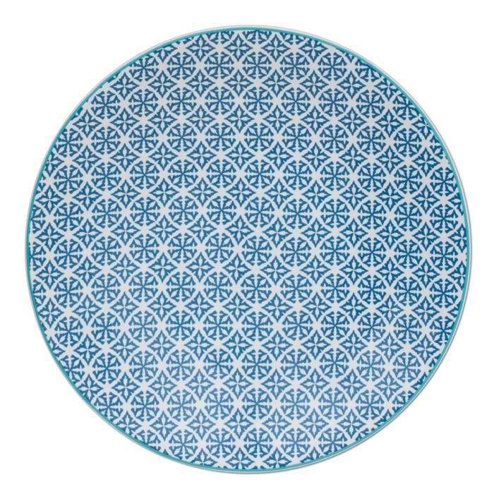 table passion assiette plate helyse 27cm ble achat vente service complet les soldes. Black Bedroom Furniture Sets. Home Design Ideas