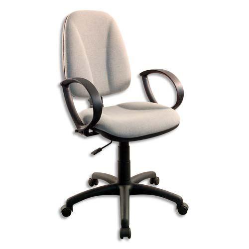 Chaise dactylo bureautique ergo lign tissu gris achat vente chaise de bu - Chaise bureau cdiscount ...