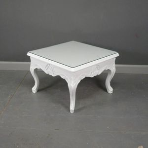 Table basse baroque achat vente table basse baroque - Table blanche baroque ...