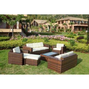 mobilier de jardin en resine tresse achat vente mobilier de jardin en res. Black Bedroom Furniture Sets. Home Design Ideas