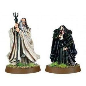 FIGURINE - PERSONNAGE Saruman et Grima