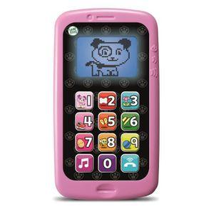 TELEPHONE JOUET LEAPFROG Mon téléphone Parle et Compte Rose