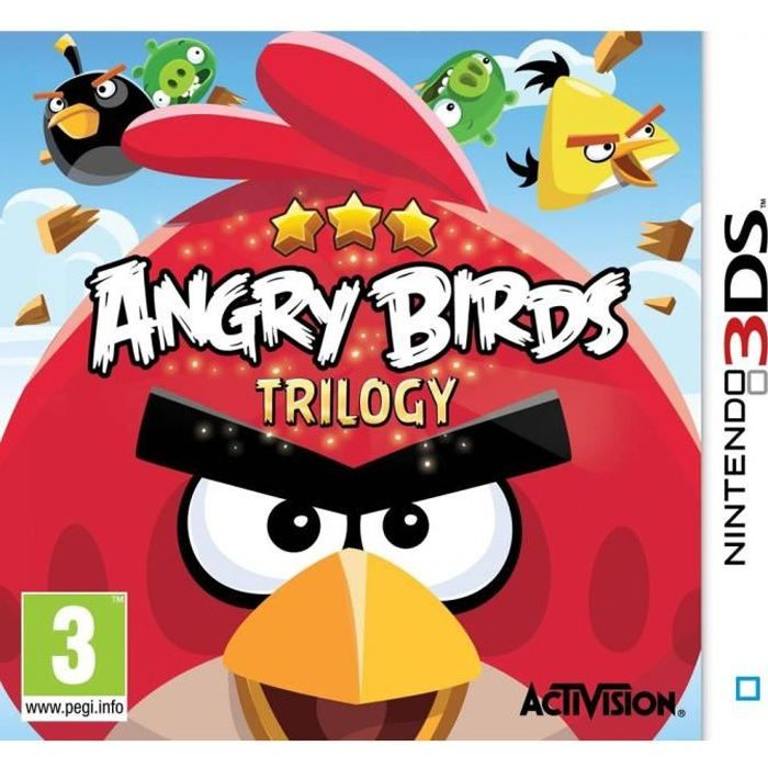JEU 3DS Angry Birds Trilogy 2DS-3DS