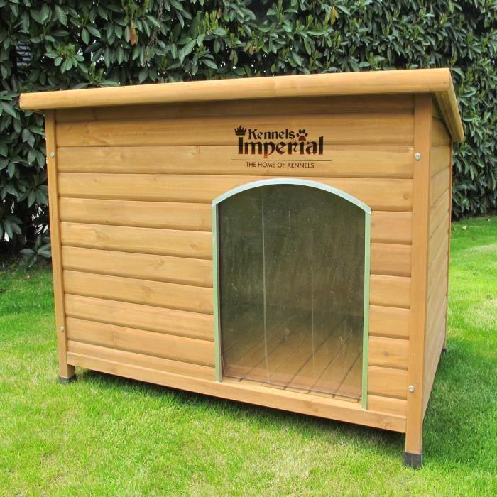 Kennels imperial norfolk niche pour chien en bois isol e - Niche pour chien en palette ...