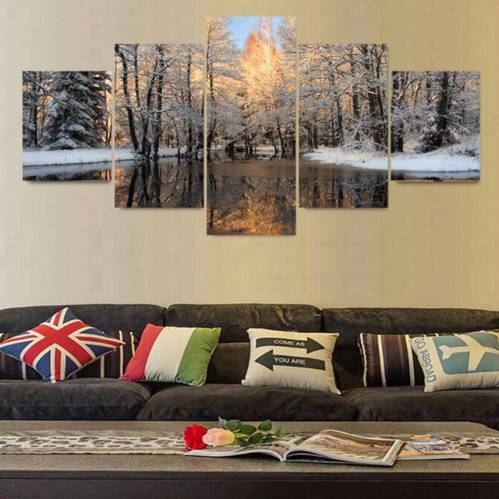 5 piece toile art photo mur photos pour le salon peinture l 39 huile pintura cuadros decoracion. Black Bedroom Furniture Sets. Home Design Ideas