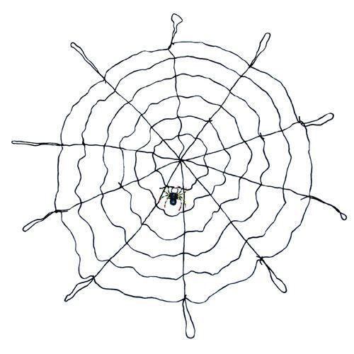 Toile d 39 araign e g ante avec araign e achat vente d co for Toile d araignee decoration
