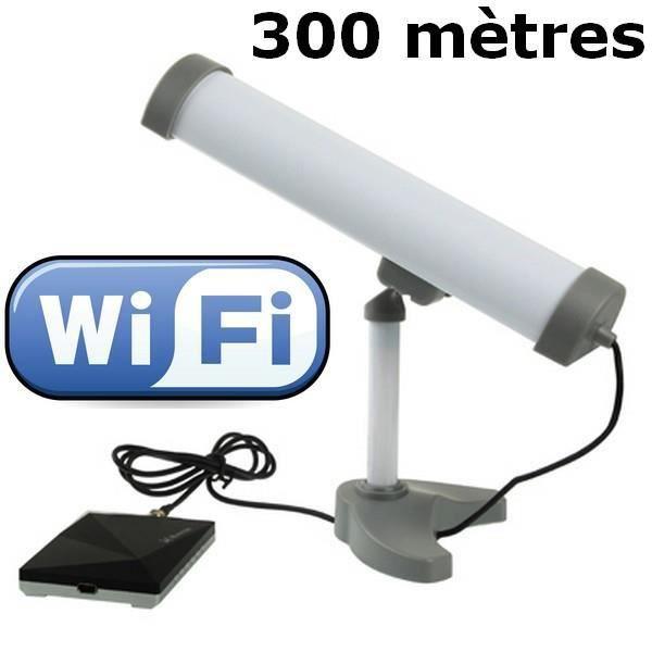 Antenne wifi usb 6000mw port e de 300m prix pas cher - Antenne wifi longue portee omnidirectionnelle ...