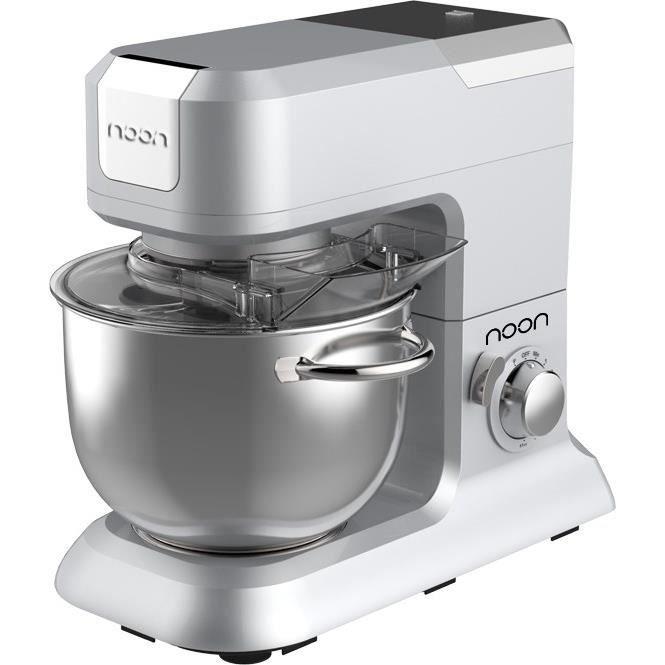 noon robot multifonction kitchen machine grise achat. Black Bedroom Furniture Sets. Home Design Ideas
